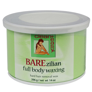 BAREzilian Full Body Hard WAX (14oz can)
